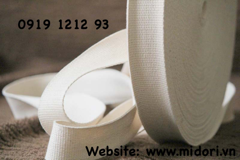 Cotton webbing tape