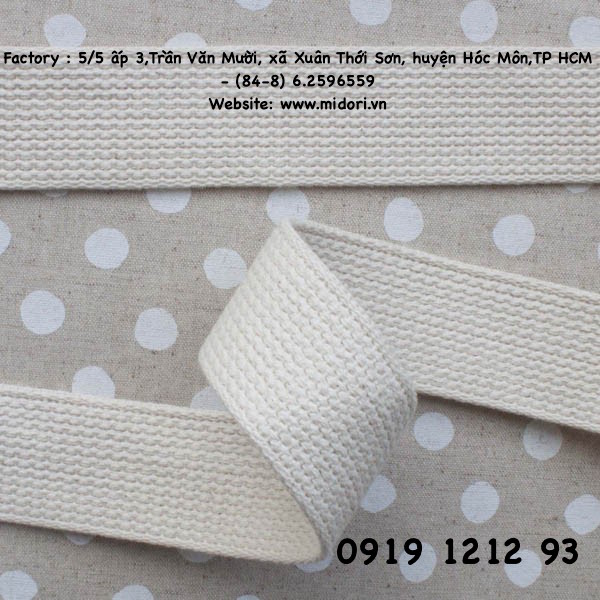 Dây cotton 38mm